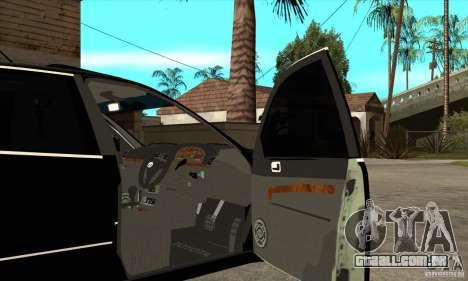 TOYOTA ARISTO 2001 ano para GTA San Andreas vista interior