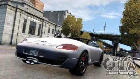 RUF RK Spyder 2006 [EPM] para GTA 4 esquerda vista