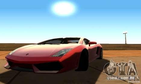 SA DRR Singe v1.0 para GTA San Andreas por diante tela