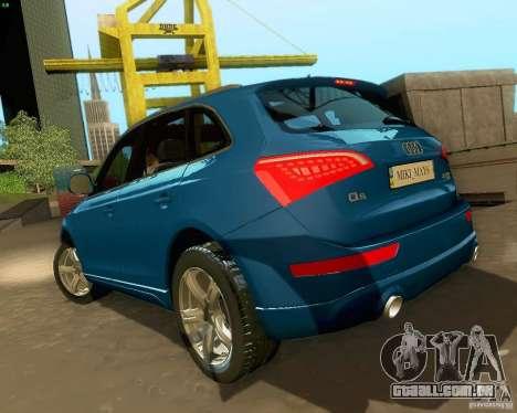 Audi Q5 para GTA San Andreas vista superior