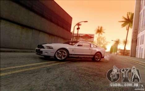 SA_DirectX 1.3 BETA para GTA San Andreas terceira tela