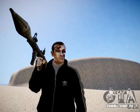 Niko - Terminator para GTA 4 por diante tela