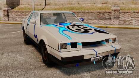 Rusty Sabre de libré, 69 para GTA 4
