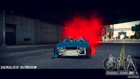 Red smoke under the wheels para GTA 4 terceira tela