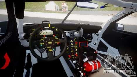 Porsche GT3 RSR 2008 SpeedHunters para GTA 4 vista inferior