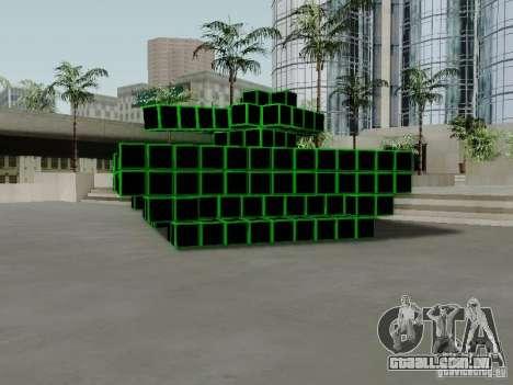 Pixel Tank para GTA San Andreas