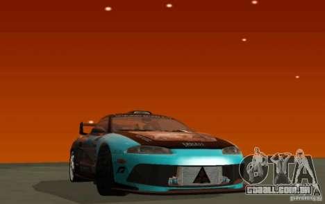 Mitsubishi Eclipse Elite para GTA San Andreas esquerda vista