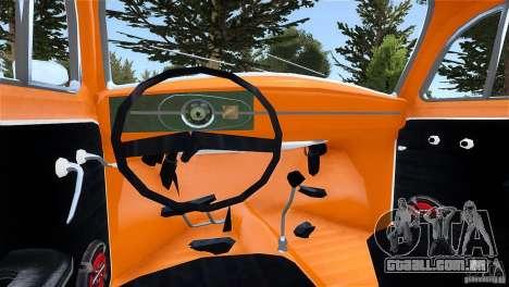 Baja Volkswagen Beetle V8 para GTA 4 traseira esquerda vista