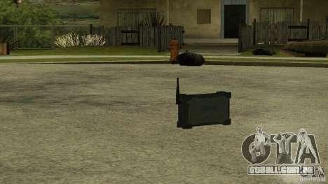 Flash do CoD MW2 para GTA San Andreas terceira tela