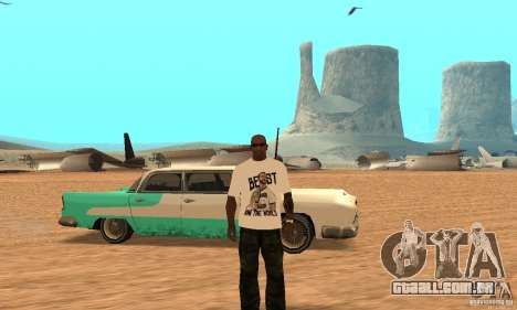 T-shirt do WWE CM Punk para GTA San Andreas
