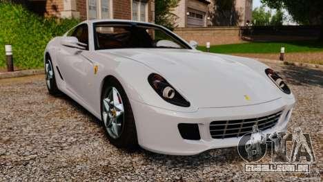 Ferrari 599 GTB Fiorano 2006 para GTA 4