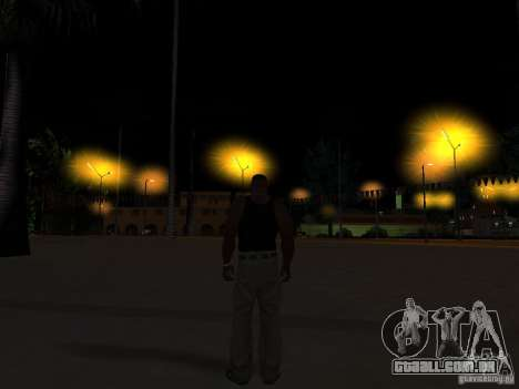 Realistic Night Mod para GTA San Andreas