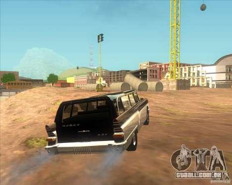 RAPH gás 13 c para GTA San Andreas traseira esquerda vista