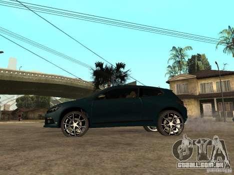 Volkswagen Scirocco 2010 para GTA San Andreas esquerda vista