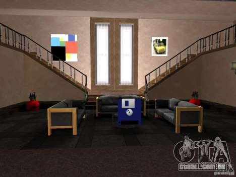 Apartamento secreto para GTA San Andreas terceira tela