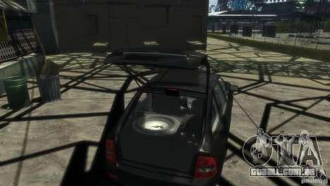LADA Priora 2172 Suite para GTA 4 vista de volta