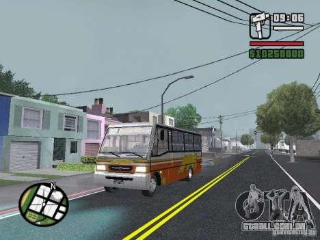 Ciferal Agilis M.Benz LO-814 BY GTABUSCL para GTA San Andreas vista superior