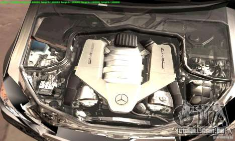 Mercedes-Benz E63 AMG 2010 para GTA San Andreas vista superior