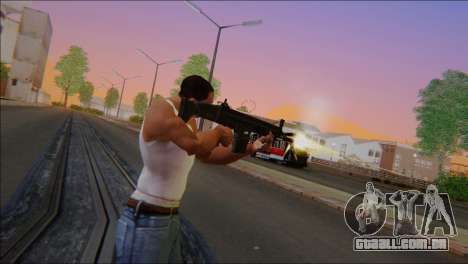 SCAR - H para GTA San Andreas terceira tela