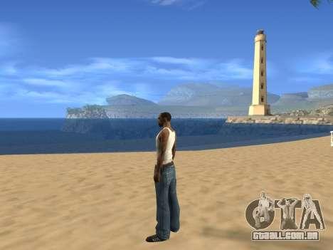 Desabilitando efeitos do calor para GTA San Andreas segunda tela
