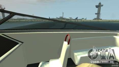 Tuned Jetmax para GTA 4 vista de volta