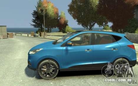 Hyundai IX35 2010 Beta para GTA 4 esquerda vista