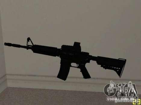 M4 MOD v2 para GTA San Andreas