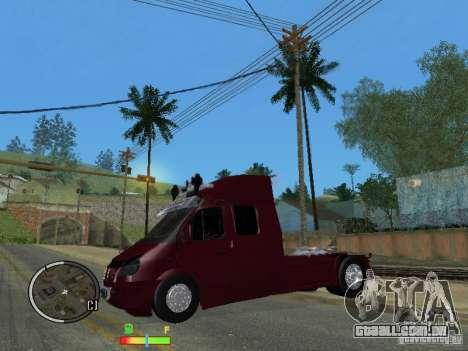 Gazela 2705 para GTA San Andreas esquerda vista