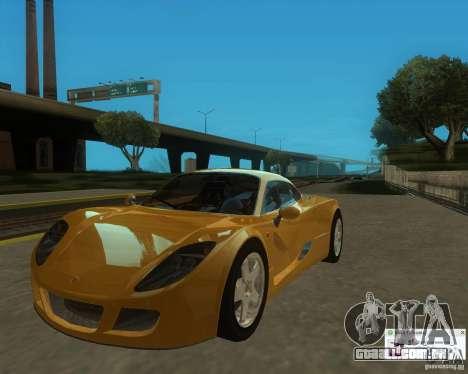 Ginetta F400 para GTA San Andreas vista direita