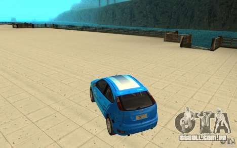 Ford Focus-Grip para vista lateral GTA San Andreas