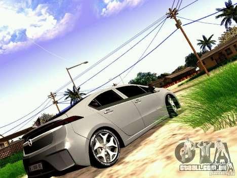 Opel Ampera para GTA San Andreas esquerda vista