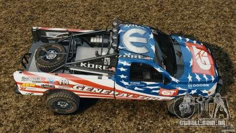 Dodge Power Wagon para GTA 4 vista direita