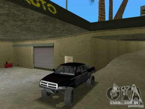 Dodge Ram Prerunner para GTA Vice City vista direita