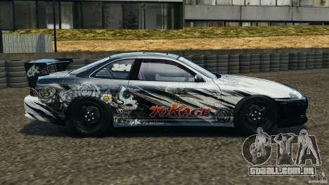 Toyota Soarer Drift para GTA 4 esquerda vista
