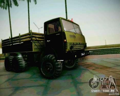 KAMAZ 4310 exército para GTA San Andreas