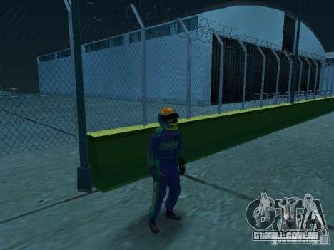 Falken Tire PED para GTA San Andreas segunda tela