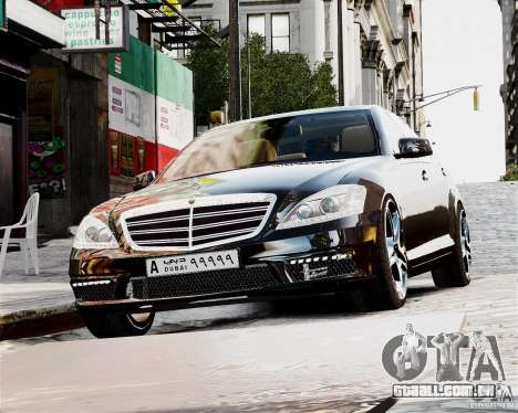 Mercedes-Benz S65 AMG 2010 Final para GTA 4 vista direita
