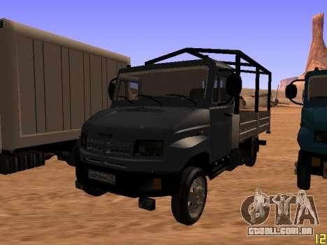 ZIL 5301 Goby para GTA San Andreas vista direita