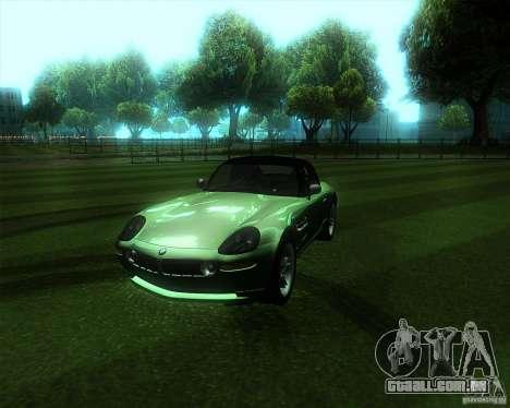 BMW Z8 para GTA San Andreas