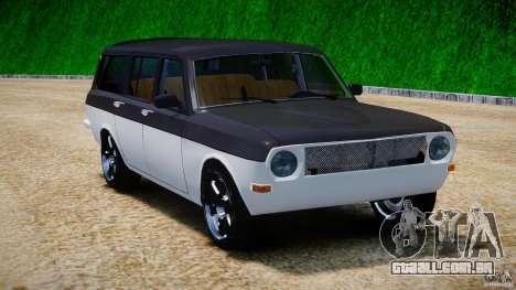 GAZ 24-12-1986-1994 Tuning para GTA 4 vista de volta