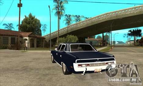 AMC Rambler Matador 1971 para GTA San Andreas traseira esquerda vista