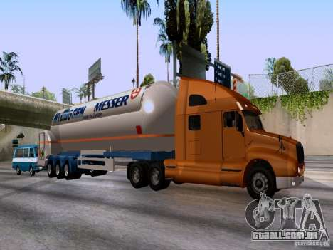 Kenworth T2000 para GTA San Andreas esquerda vista