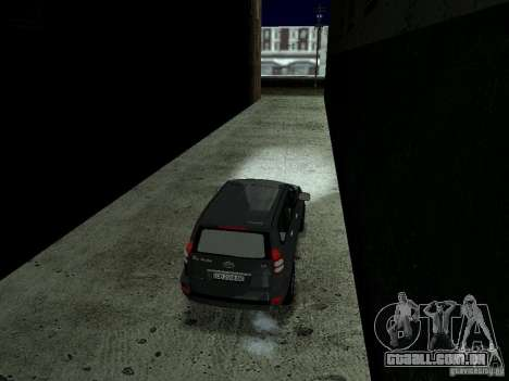 LibertySun Graphics For LowPC para GTA San Andreas nono tela