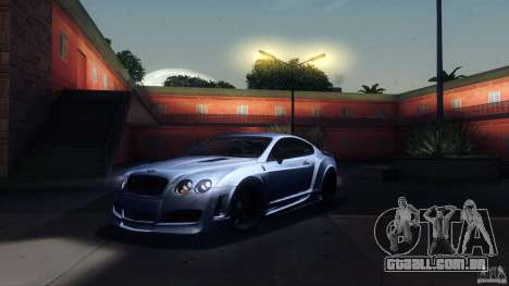 Bentley Continental GT Premier4509 2008 Final para GTA San Andreas