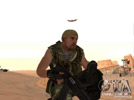 Comando russo para GTA San Andreas sétima tela