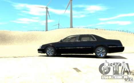 Cadillac DTS v 2.0 para GTA 4 esquerda vista