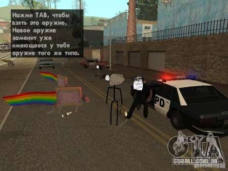 Meme Ivasion Mod para GTA San Andreas quinto tela