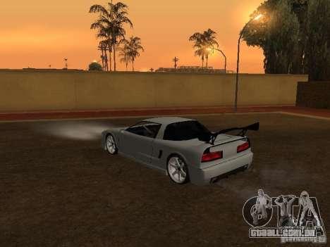 Infernus novo HD para GTA San Andreas esquerda vista