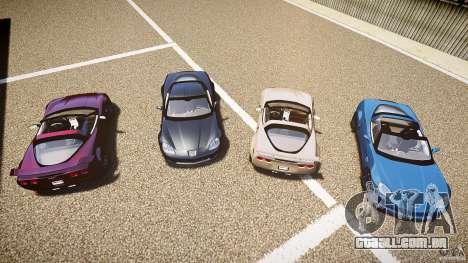 Chevrolet Corvette Z06 1.2 para GTA 4 interior