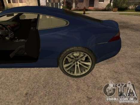 Jaguar XK para GTA San Andreas vista direita